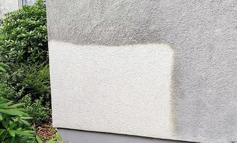 Gratis Fassaden-Probereinigung