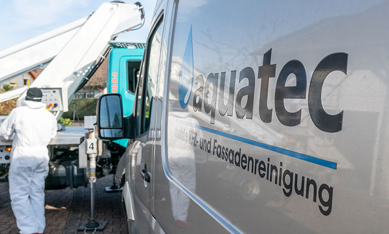 aquatec mobile Fassadenreinigung