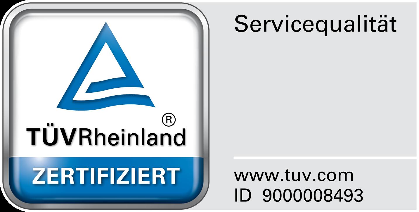 TÜV zertifizierte Fassadenreinigung von aquatec