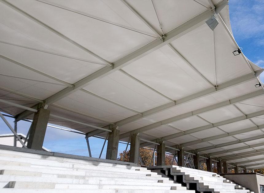 Reinigung Stadion Dächer